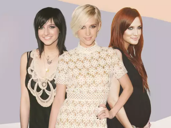 Ashlee Simpson Reviews All Her Past Hairstyles