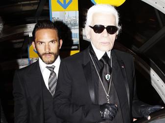 Karl Lagerfeld's Hot Bodyguard Is Now A Designer