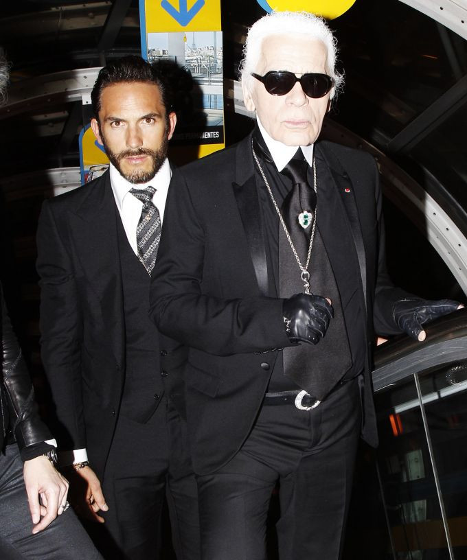 Karl Lagerfeld's Hot Bodyguard Is Now A Designer