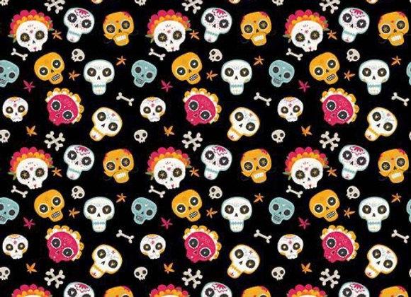 Skulls 2 cotton