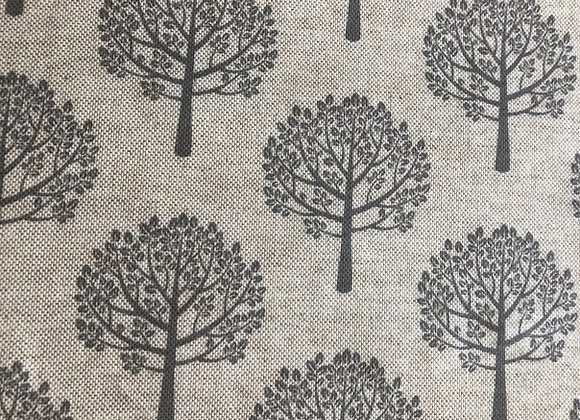 Grey mulberry tree oilcloth
