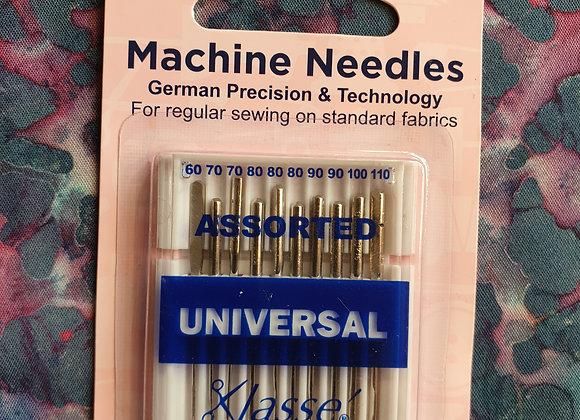 Machine Needles - Assorted Universal