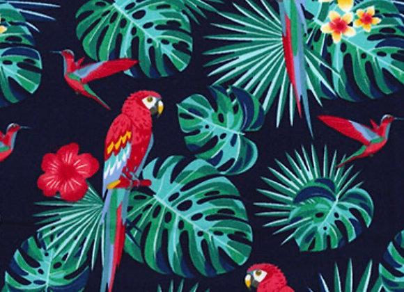 Tropical parrot cotton