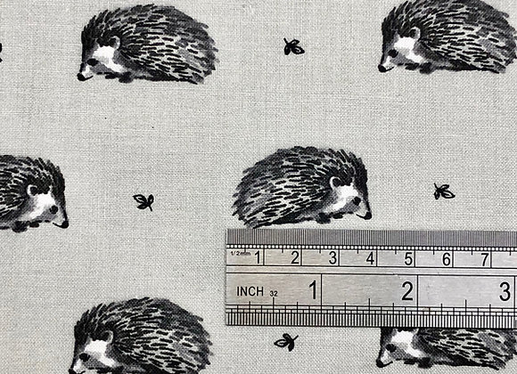 Grey hedgehog cotton