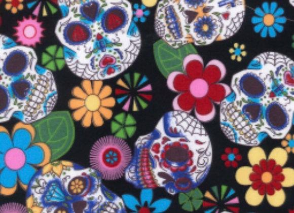 Multi skulls cotton