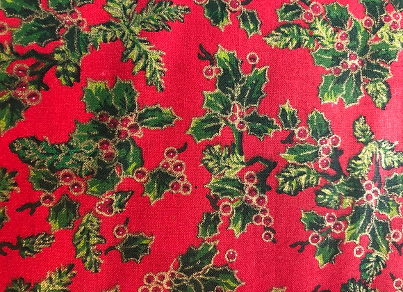 Red holly cotton