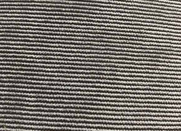 Silver grey soft corduroy