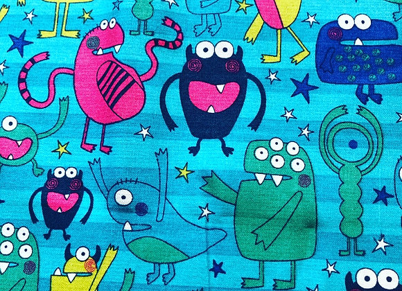 Monsters cotton