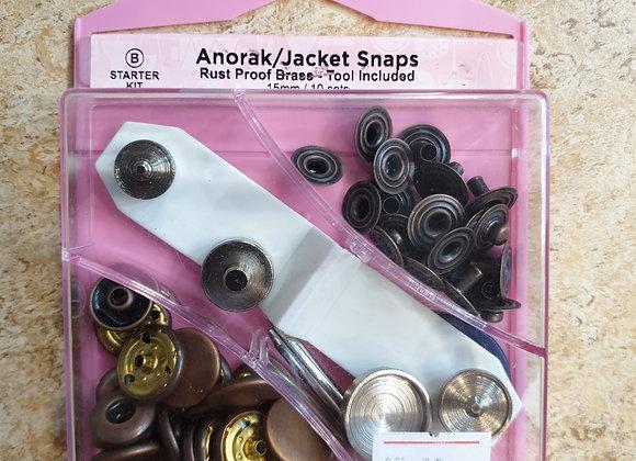 Anorak/Jacket Snaps