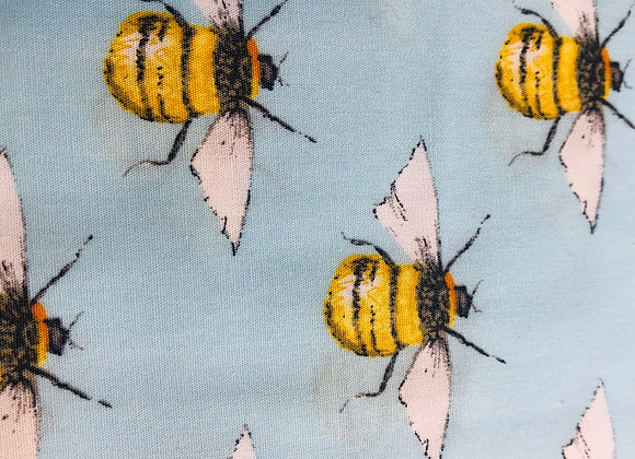 Blue bee cotton