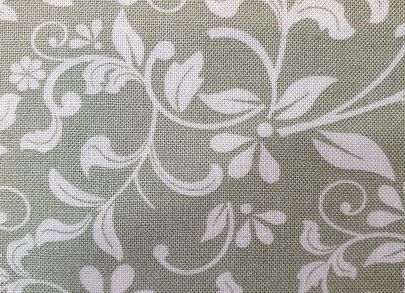 Green floral cotton mixer 2