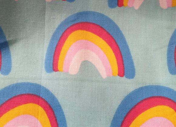 Rainbows polycotton