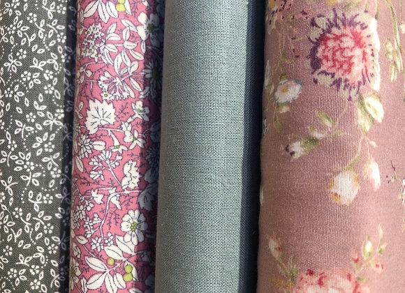 Floral fat quarters cotton