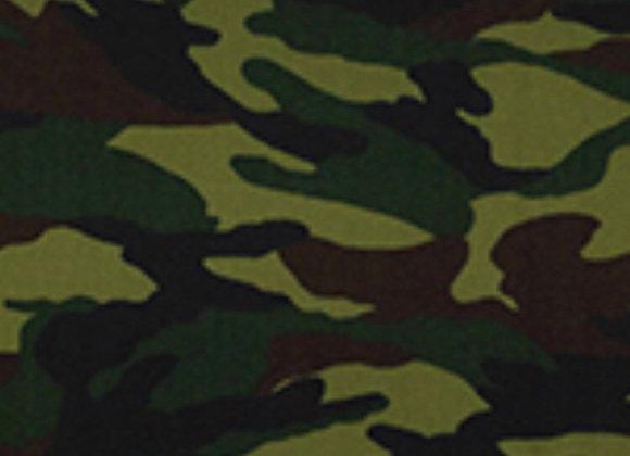 Camouflage cotton