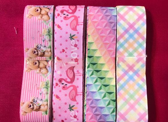 Pattern ribbon bundles