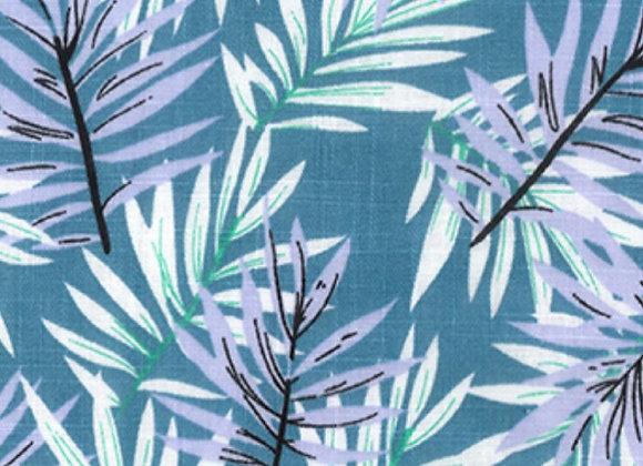 Linen mix fabric