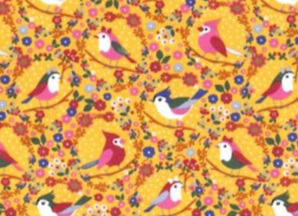 Yellow birds tricot