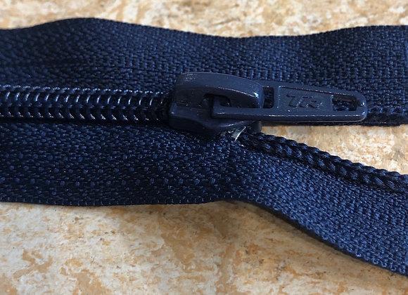 Nylon open ended zips