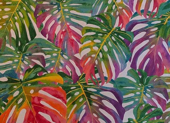 Tropical summer canvas