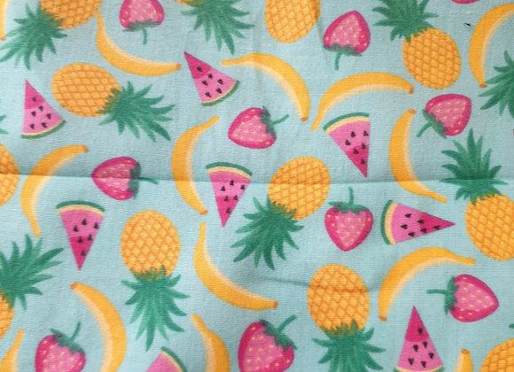 Tropical Fruit polycotton
