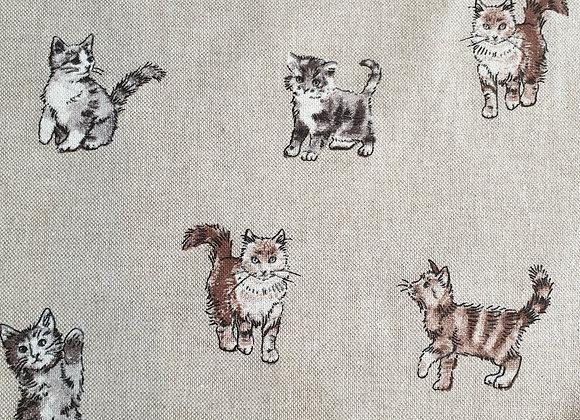 Shabby Cats linen look