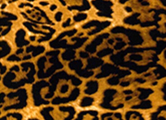 Leopard print cotton