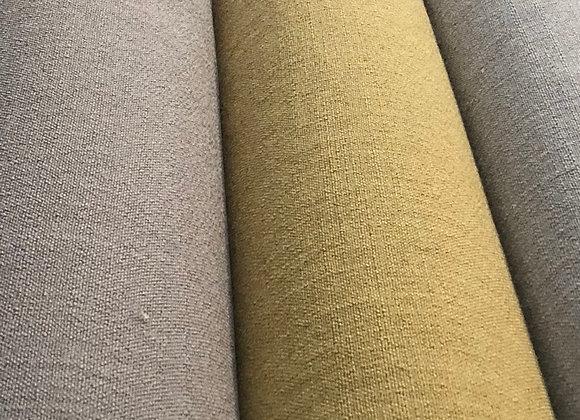 Linum ll linen look upholstery fabric