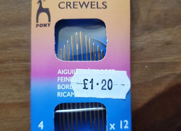 Crewels Needles - 4