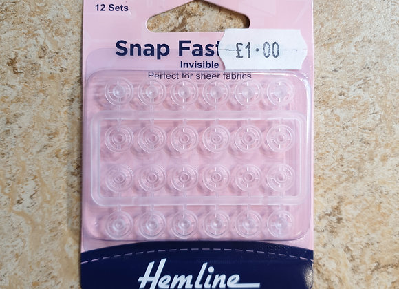 Snap fasteners