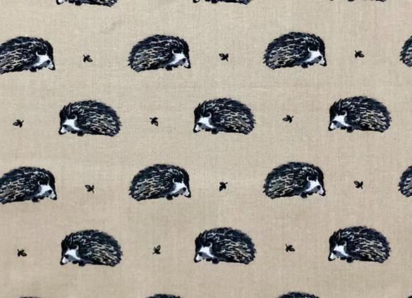Stone hedgehog oilcloth
