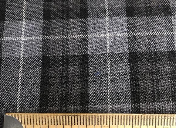 Grey fashion tartan