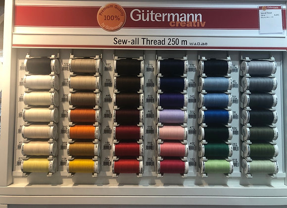 Gutterman sew all 250m section 1