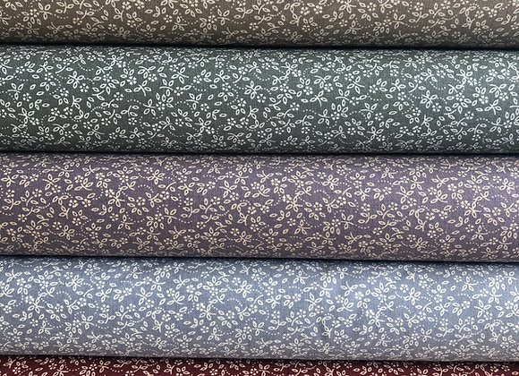 Vintage ditsy floral cotton