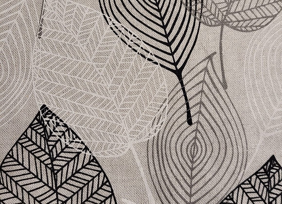 Leaf  linen look canvas