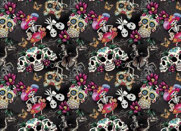 Skulls 1 cotton
