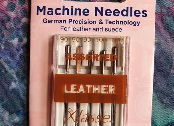 Machine needles - Assorted leather