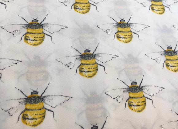White bee cotton