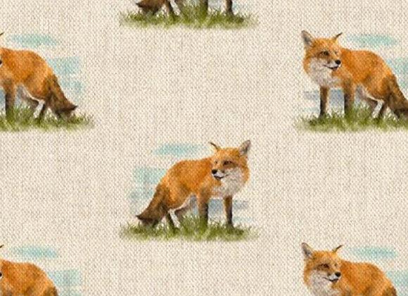 Foxes linen look