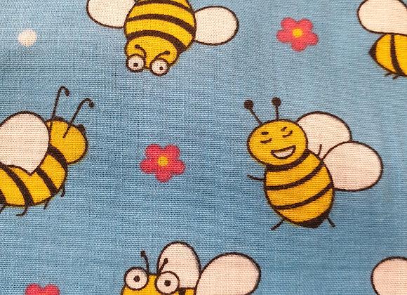 Bees  polycotton