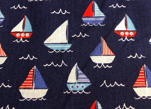 Sail Boats polycotton