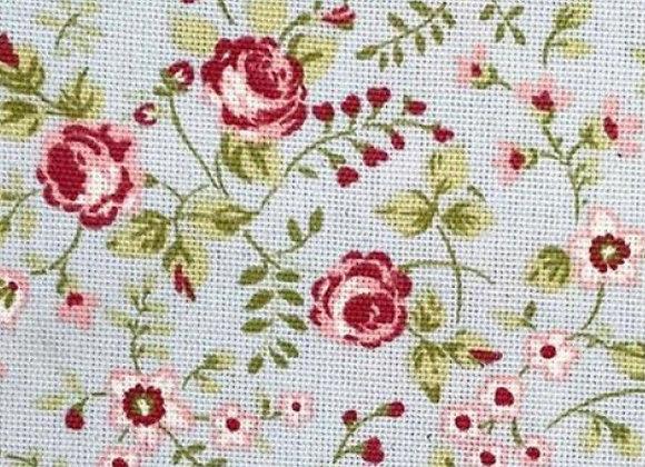Floral cotton canvas