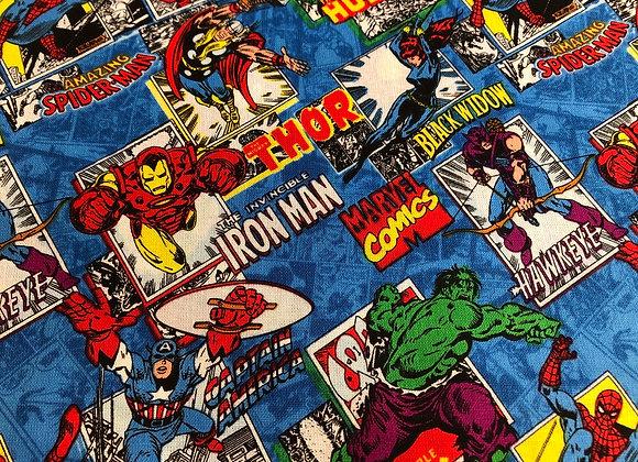 Marvel comic cotton