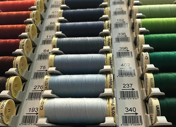 Gutermann sew-all thread. 100m. Sec 4