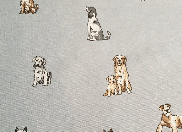 Shabby Dogs  linen look