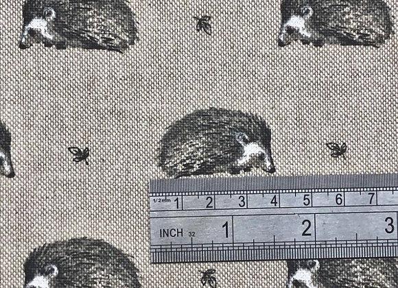 Hedgehog linen look