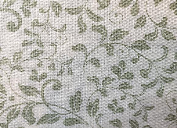 Green floral cotton mixer 1