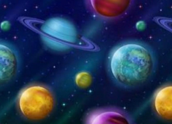 Planets cotton