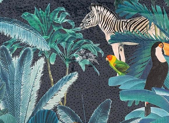 Tropical  jungle velvet