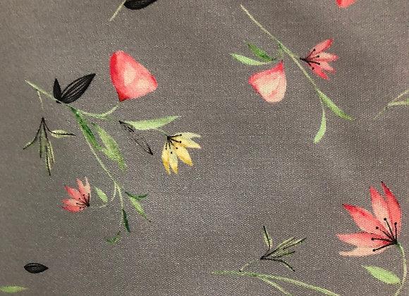 Floral  9 cotton