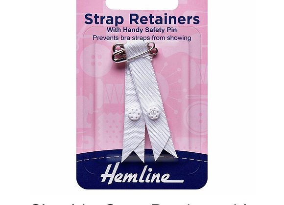 Strap Retainers white